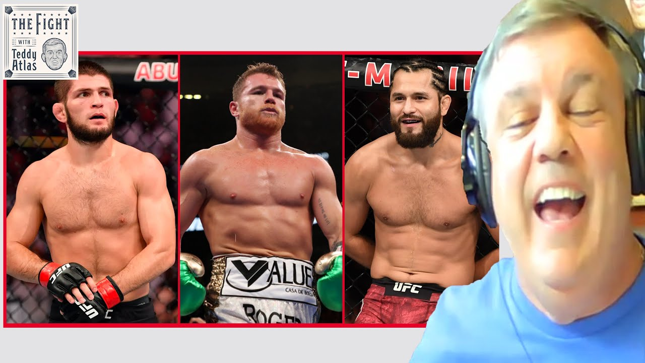 """Fighting a tiger with no claws"" Teddy Atlas on DAZN wanting Canelo vs Khabib, Canelo vs Masvidal"