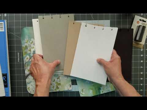 DIY Disc Bound Sketchbook