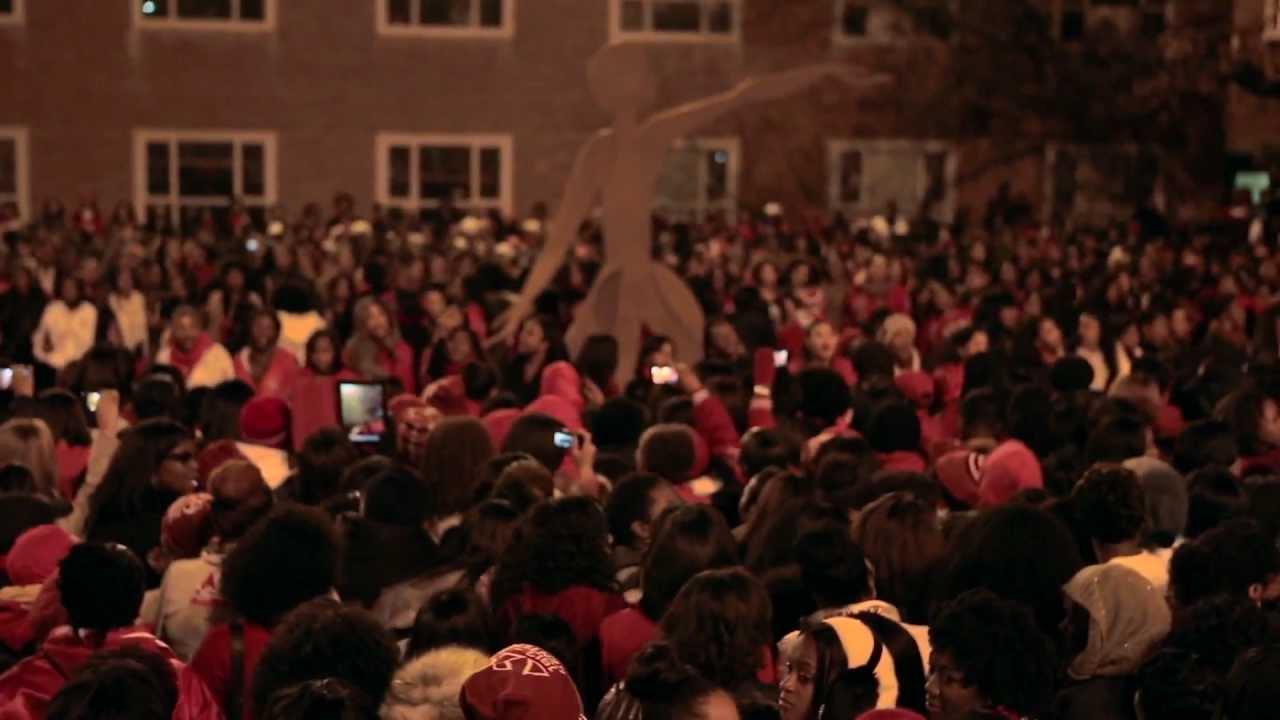 Delta Sigma Theta Brings In The 100th Howard University Sweetheart