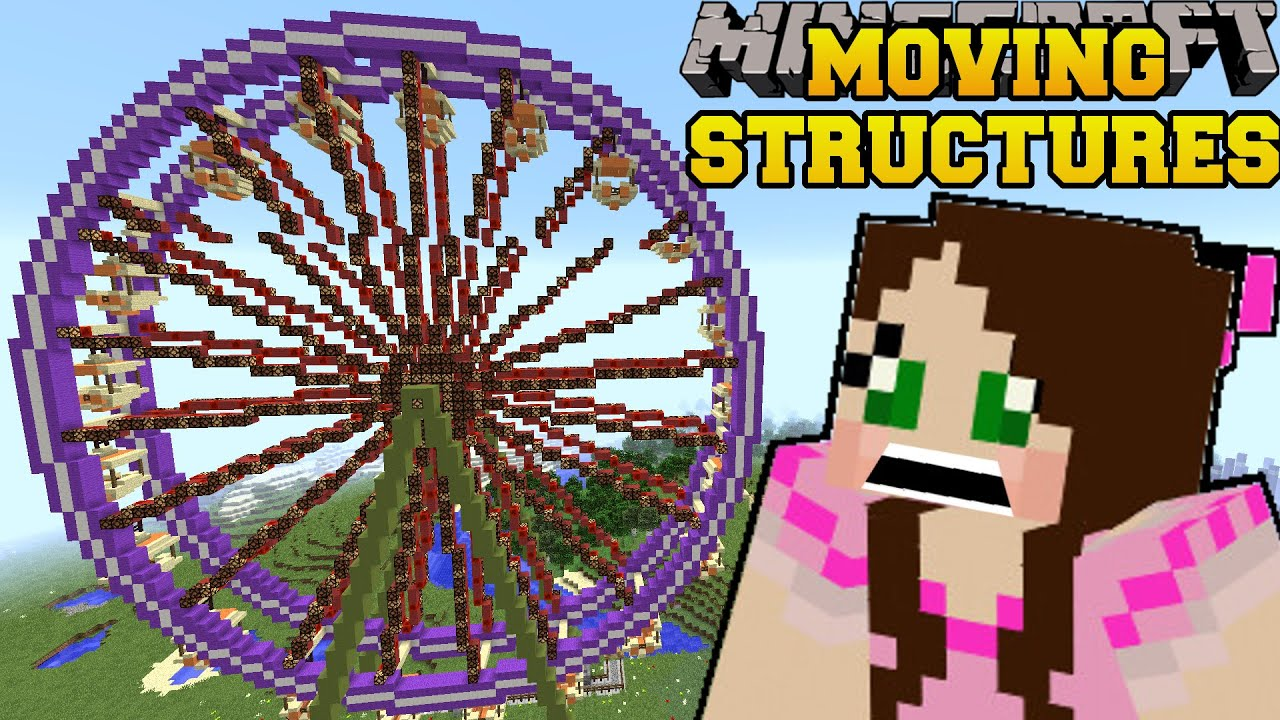 minecraft moving structures real movie theater buses