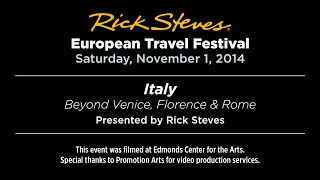 Italy (Beyond Venice, Florence & Rome) with Rick Steves