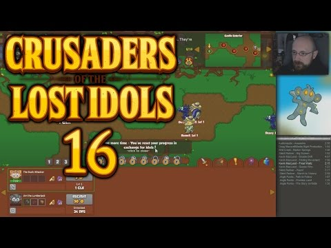 Descent Into Darkness - CRUSADERS OF THE LOST IDOLS #16 - Let's Play [german / deutsch]