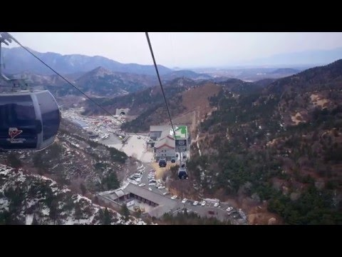 Beijing Great Wall of China at Badaling Cable Car Ride