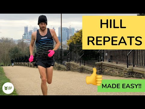 HILL REPEATS RUNNING made EASY a SIMPLE guide!