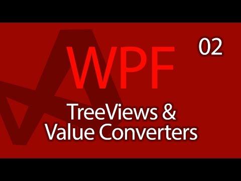 C# WPF UI Tutorials: 02 - TreeViews and Value Converters
