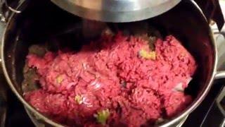 Making food at Discus Hans USA