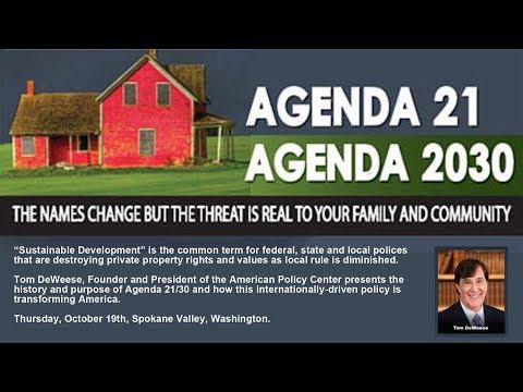 Agenda 21-30 - Tom DeWeese - 10 19 17