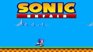 Sonic Unfair Walkthrough No Deaths
