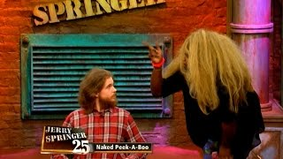 Repeat youtube video One of the Craziest Springer Moments EVER  (The Jerry Springer Show)