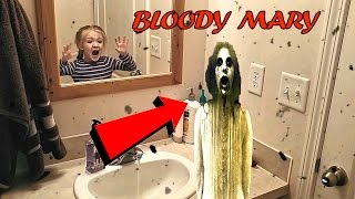 Bloody Mary Challenge Gone Wrong *OMG HELP* I'm Trapped Inside the Mirror!!!*