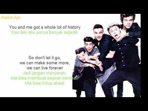 One Direction - History (LIRIK DAN TERJEMAHAN BAHASA INDONESIA)