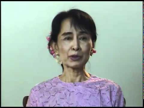 Daw Aung San Suu Kyi speech Cinema for Peace Gala 2011  for Ko Za Ga Nar