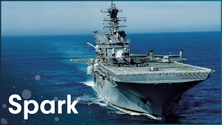 The Enormous USS Ronald Reagan Carrier | Aircraft Carrier: Guardian Of The Seas | Spark