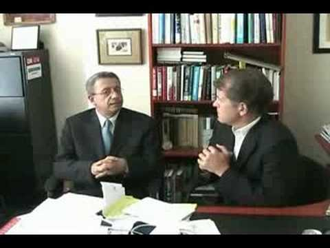 Steve Clemons and Mustafa Barghouti