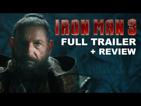Iron Man 3 Official Trailer 2013 + Trailer Review : HD PLUS