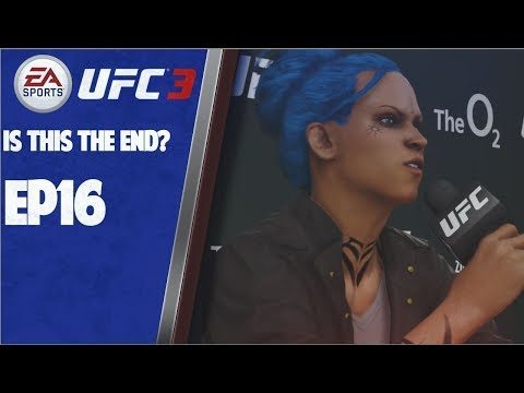 THE END IS NEAR!!!  EA UFC 3 FEMALE GOAT CAREER EP16 LEGENDARY DIFFICULTY