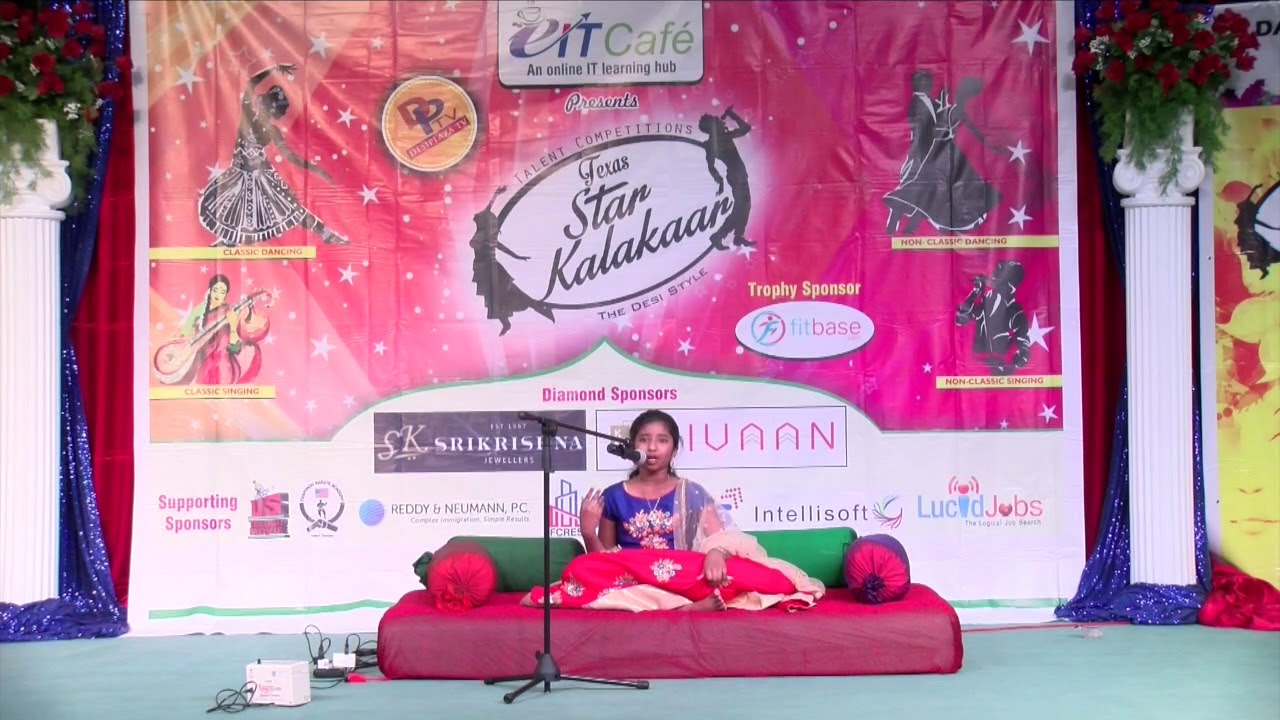 Star Kalakaar Night - 2017 Singing Classical & Non Classical