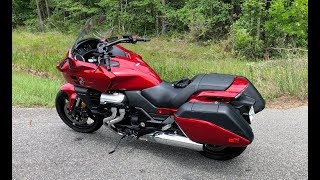 honda CTX 1300 Accessories and Ride