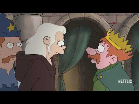 DISENCHANTMENT Official Trailer Teaser 2018 The Simpsons Creators Animated Netflix Series
