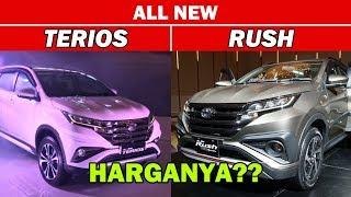 ALL NEW RUSH Dan TERIOS 2018 Terbaru - Tampilan Dan Info HARGANYA Di Indonesia