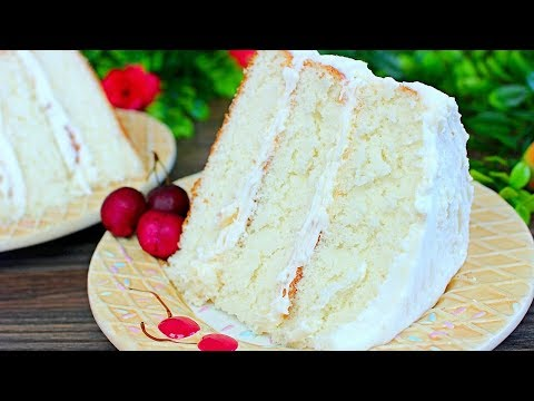 How To Make The Best White Cake - Rich And Moist White Cake Recipe
