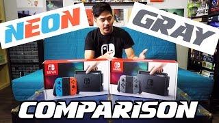 NEON or GRAY: Nintendo Switch Comparison