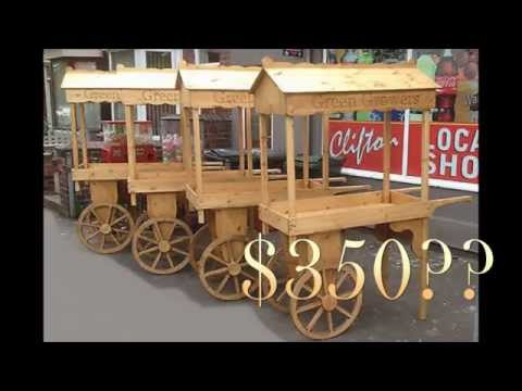 T2T: How to make a Fruit Cart (Part 1: Making the Wagon Wheels)