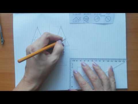 Как развернуть конус на плоскости