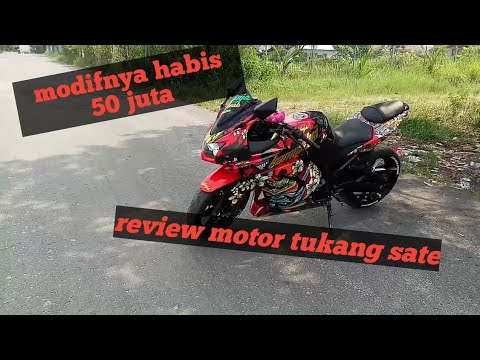 Review Motor ninja 250 modif hedon