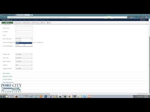 Joomla 3 Advanced Article And Menu Setups