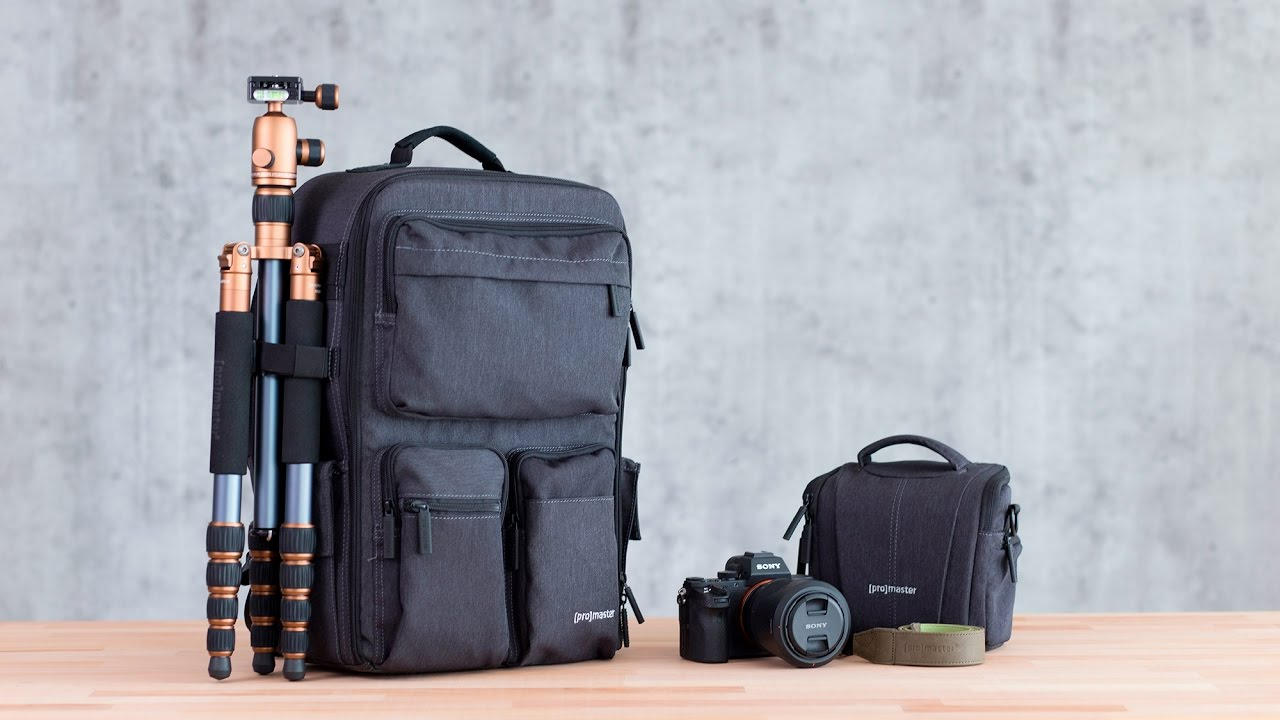 2c4c12655a ProMaster Cityscape Camera Bags - YouTube