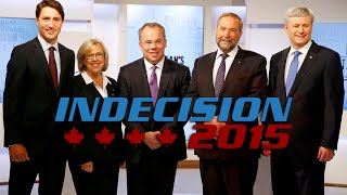 Canada Election 2015 - Leaders Debate Highlights