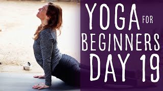 25 Minute Yoga For Beginners 30 Day Challenge Day 19 with Fightmaster Yoga