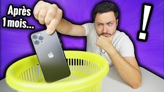 IPhone 11 Pro test after 1 month ! (It's really finished)