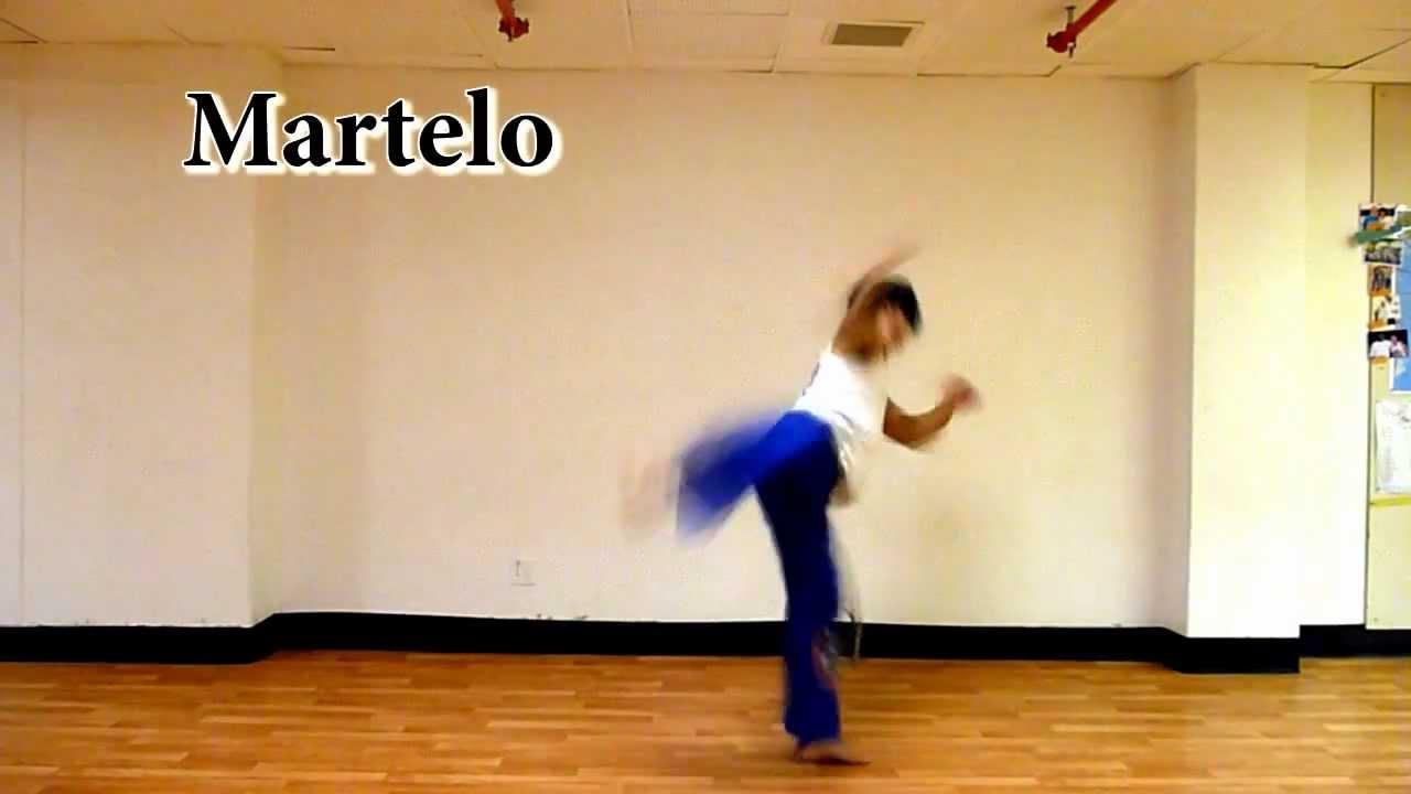 basic capoeira kicks - YouTube