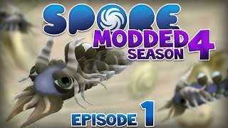 SPORE: Modded - DREADLOCKS!! | Ep1 Season4 - Spore Cell Stage