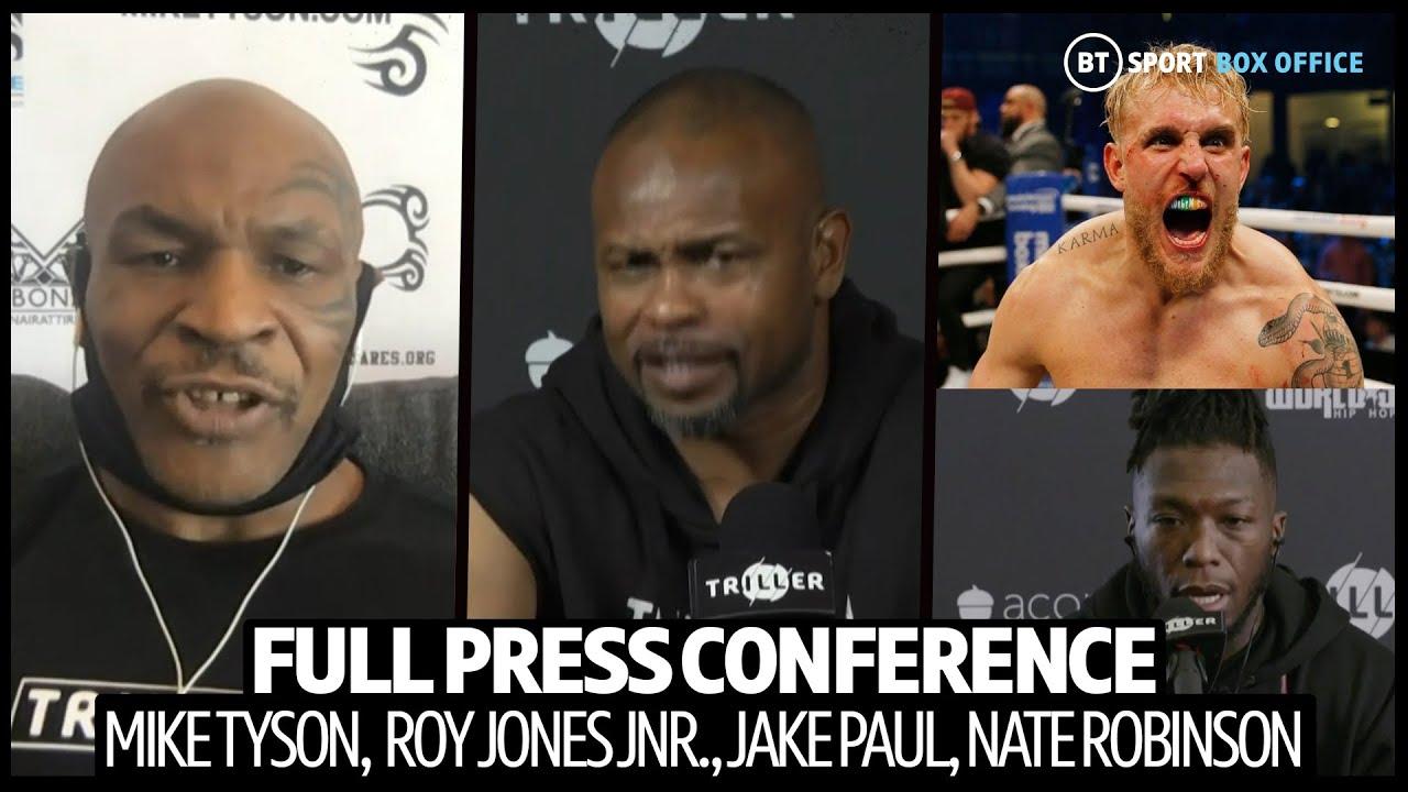 Tyson vs Jones. Conferência de Imprensa