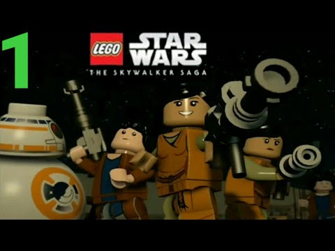 LEGO Star Wars: The Force Awakens - Gameplay Part 1- Chapter 1 (Android,iOS) - Zubaraj The Gamer  