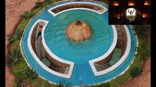 Build Most Awesome Underground Secret House Under Swimming Pool Deep In Jungle. Full Video