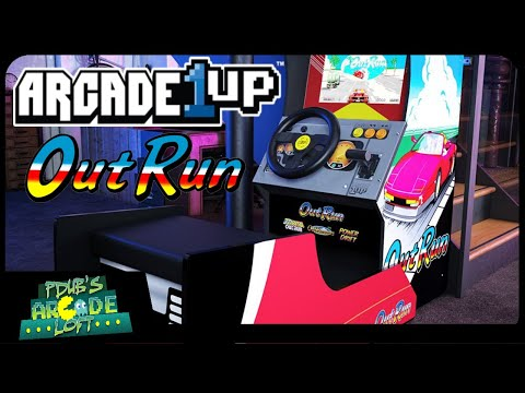 Arcade1Up OutRun Racing Cabinet Pre-Orders are LIVE! First Impression! from PDubs Arcade Loft