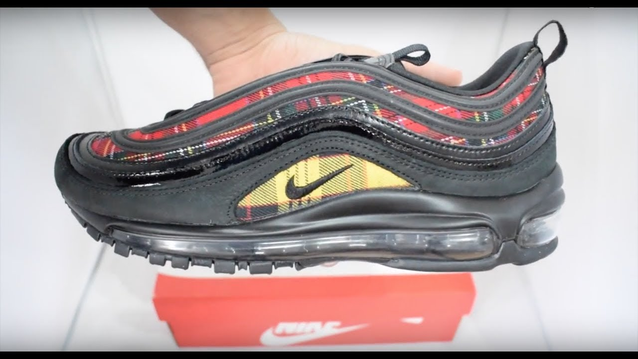 Nike Air Max 97 Tartan Unboxing - YouTube 4f7d34a2f