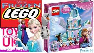 Lego Frozen 41062 - Building Lego Disney Frozen Elsa's Sparkling Ice Castle Timelapse
