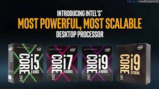 Intel core i9 (must watch)