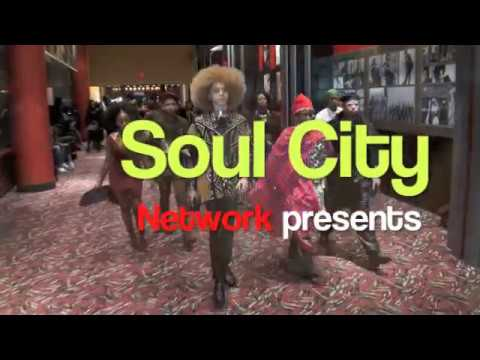 MATT McCOY SOUL CITY NETWORK at BLACK PANTHER MOVIE PREMIER IN HARLEM 2018