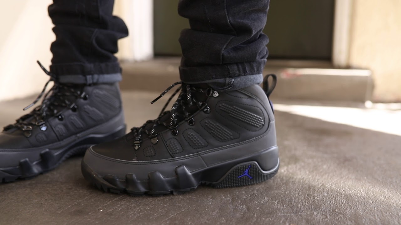 premium selection 48e88 898fc Air Jordan 9 Boot (Dope or Nope) + On Foot