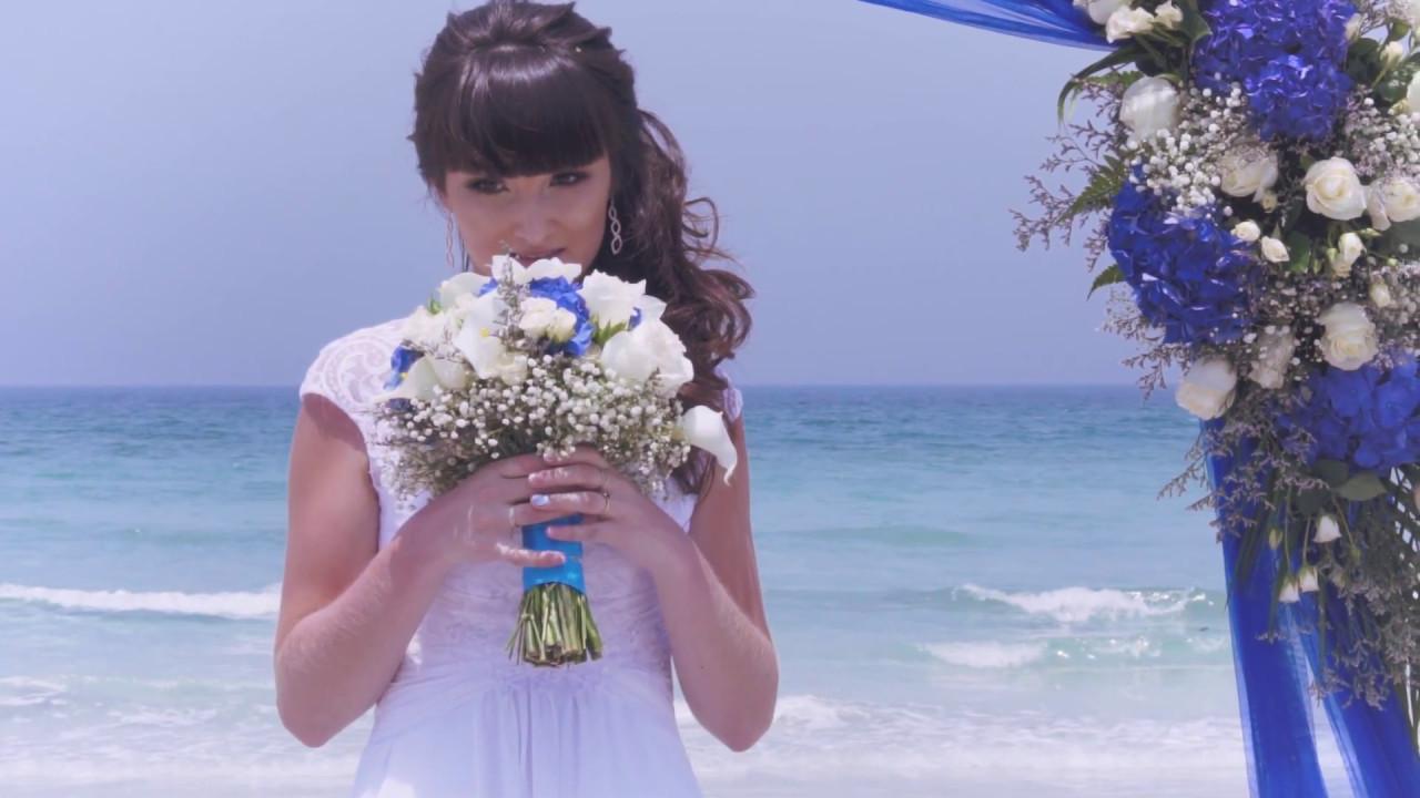 Most Beautiful Beach Wedding Ceremony music by Jain - YouTube