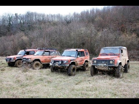 Land Rover Defender 90 vs Range Rover Classic vs Land Rover Discovery TD5x2  *OFFROAD*