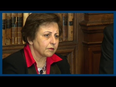 The People's Mujahedin of Iran | Shirin Ebadi | Oxford Union