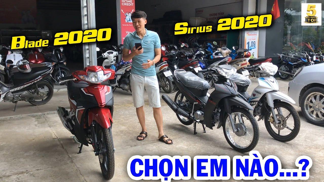 Yamaha Sirius 2020 VS Honda Blade 2020 ▶️ Cùng phân khúc – cùng giá bán – Nên Chọn AI? 🔴TOP 5 ĐAM MÊ