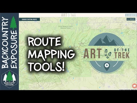Plan Better Backpacking Routes | Phone Apps And Websites!